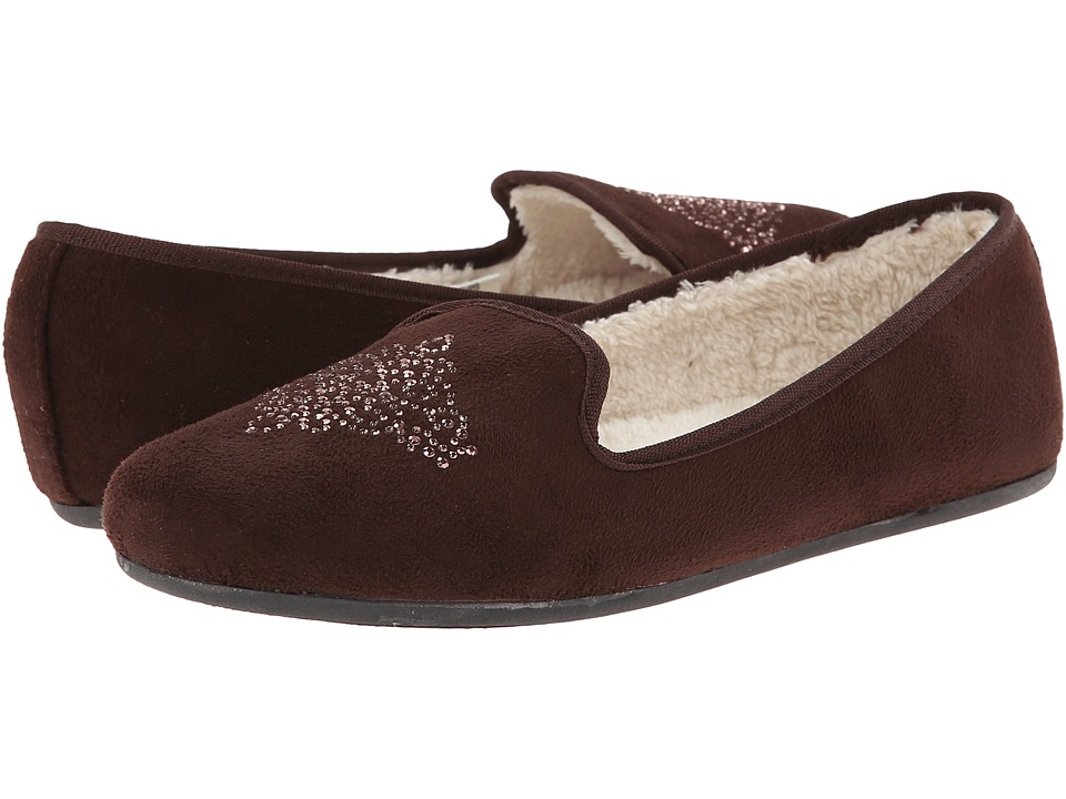 Hush Puppies Slippers - Carnation (Espresso) Women's Slippers