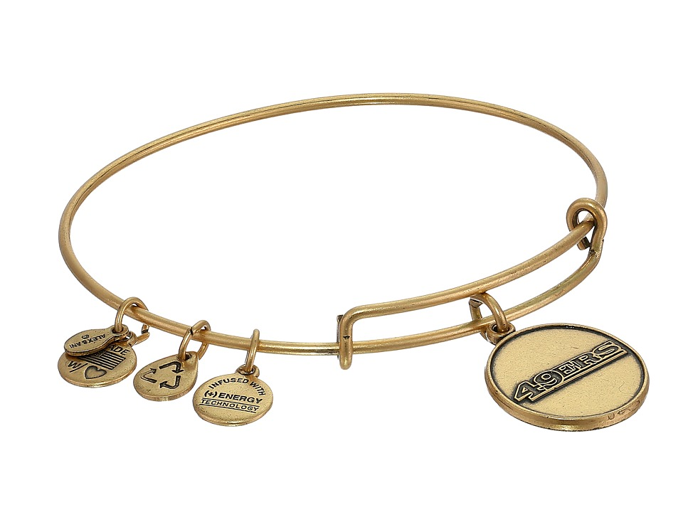 Alex and Ani - San Francisco 49ers Logo Charm Bangle (Rafaelian Gold Finish) Bracelet