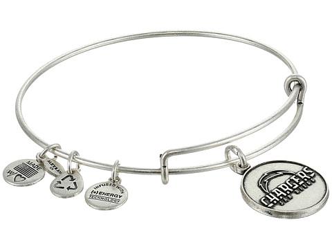 Alex and Ani - San Diego Chargers Logo Charm Bangle (Rafaelian Silver Finish) Bracelet