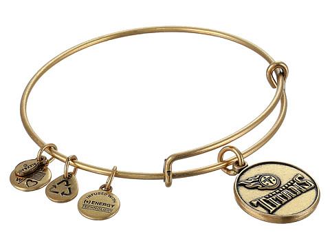 Alex and Ani - Tennessee Titans Logo Charm Bangle (Rafaelian Gold Finish) Bracelet