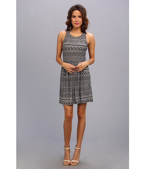 BCBGeneration - The Two Way Dress (Black Combo) Women