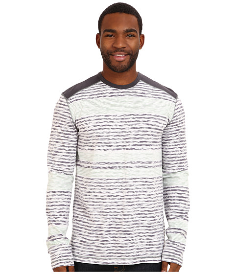 Ecoths - Lincoln L/S Tee (Nine Iron) Men