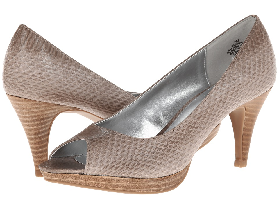 Bandolino - Mylah (Light Grey/Light Grey Synthetic) High Heels