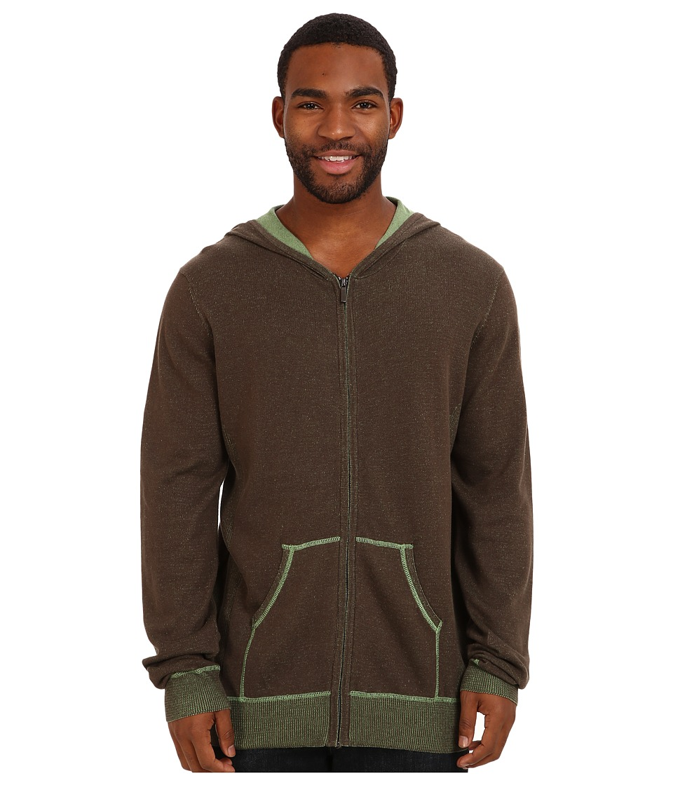Ecoths - Sawyer Hoodie (Turkish Coffee) Men's Sweatshirt