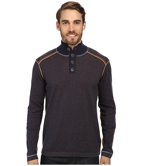 Ecoths - Maddox Sweater (Mood Indigo) Men's Sweater