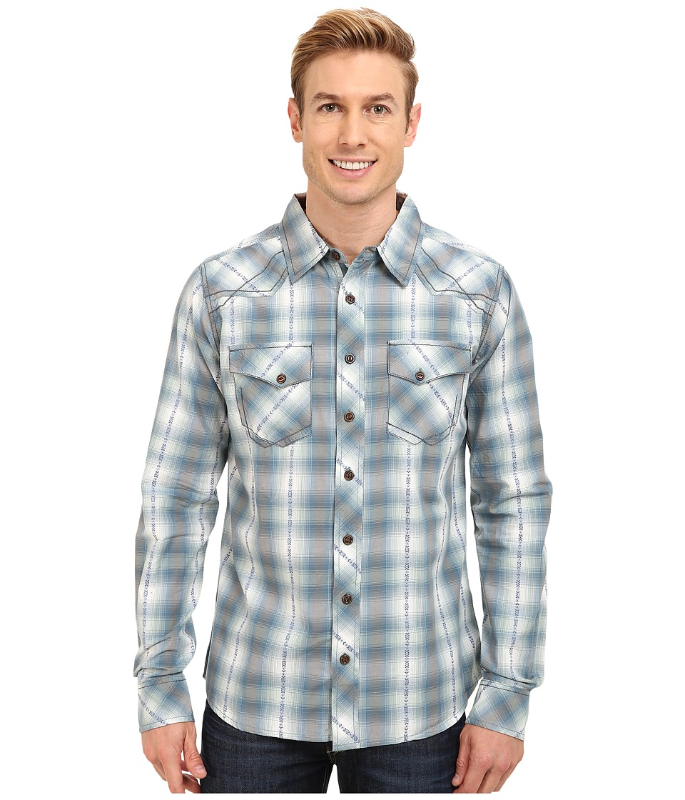Ecoths - Harrison L/S Button Up (Mallard) Men