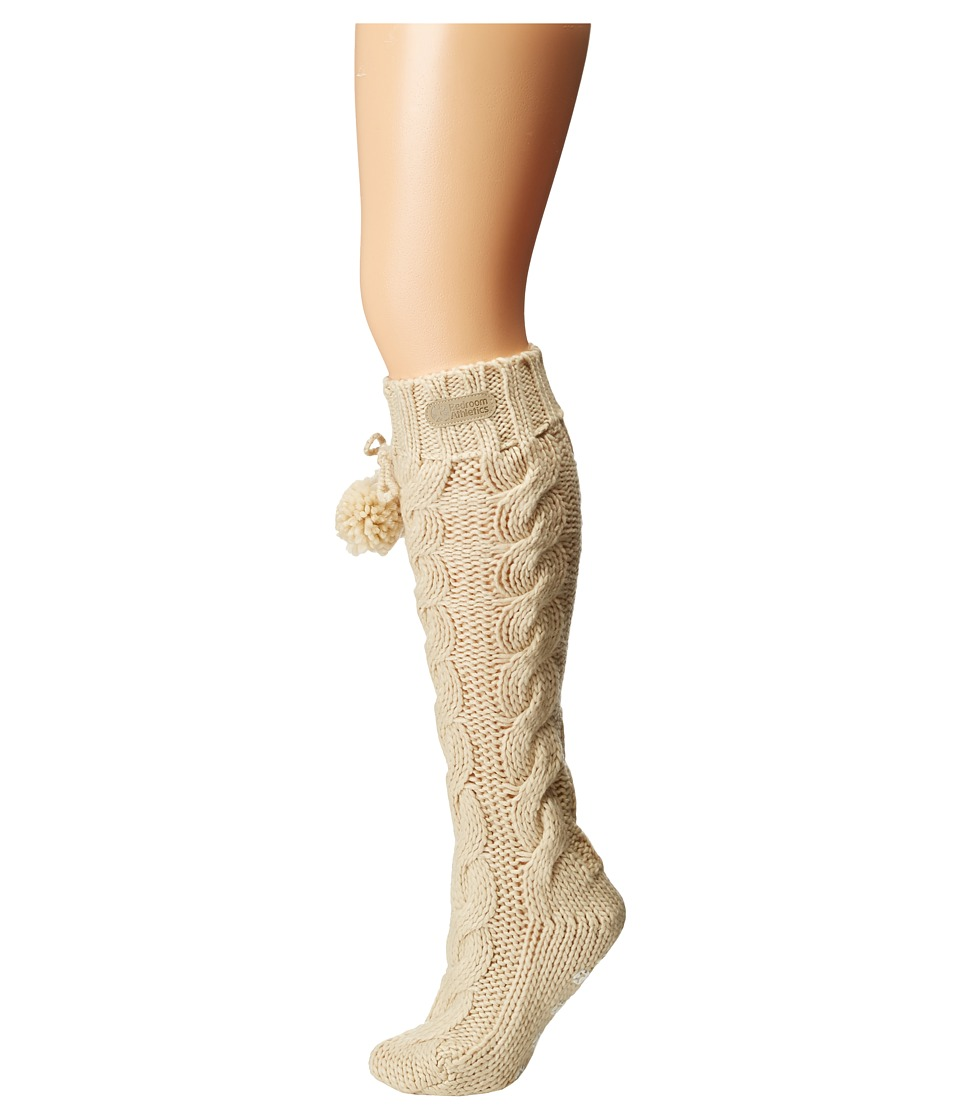 Bedroom Athletics - Angelina (Cream 2) Women's Knee High Socks Shoes