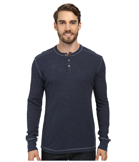 Ecoths - Adrian Henley (Mood Indigo) Men's Long Sleeve Pullover