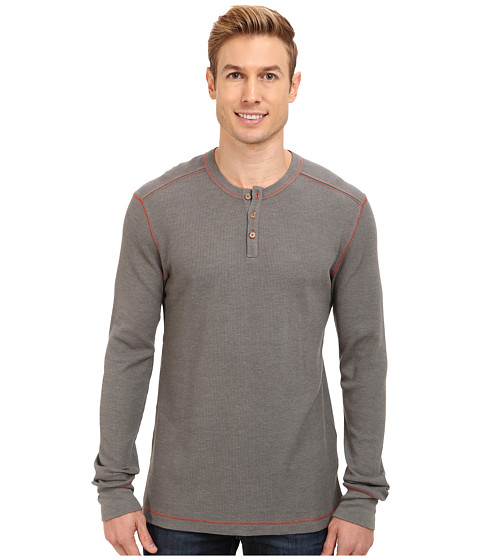 Ecoths - Adrian Henley (Charcoal) Men's Long Sleeve Pullover