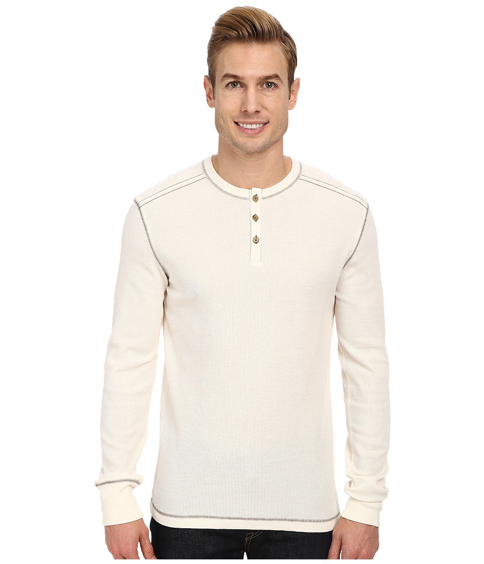 Ecoths - Adrian Henley (Whisper White) Men's Long Sleeve Pullover