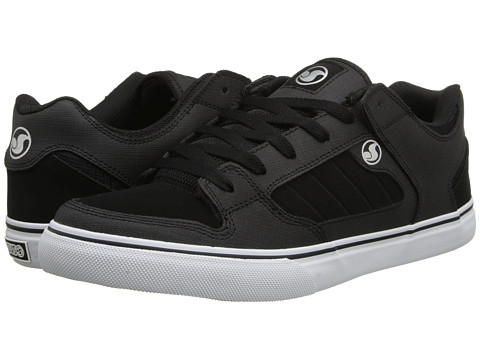 DVS Shoe Company - Militia CT (Black/White Gunny) Men's Skate Shoes