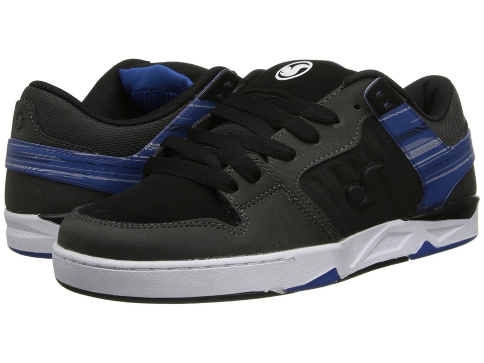 DVS Shoe Company - Argon (Grey/Blue Gunny) Men's Skate Shoes