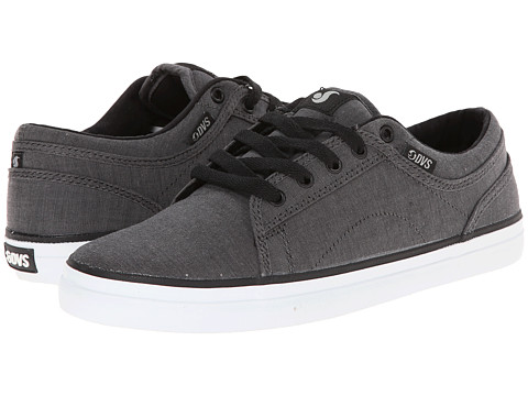 DVS Shoe Company - Aversa (Grey Chambray) Men's Skate Shoes