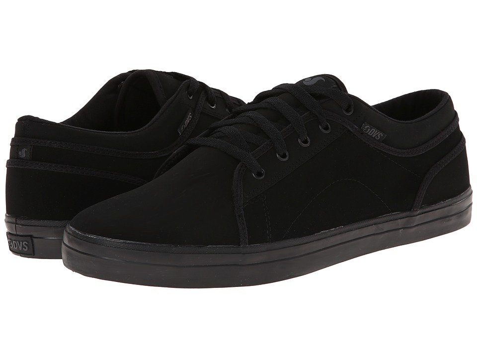 DVS Shoe Company - Aversa (Black/Grey Nubuck) Men's Skate Shoes