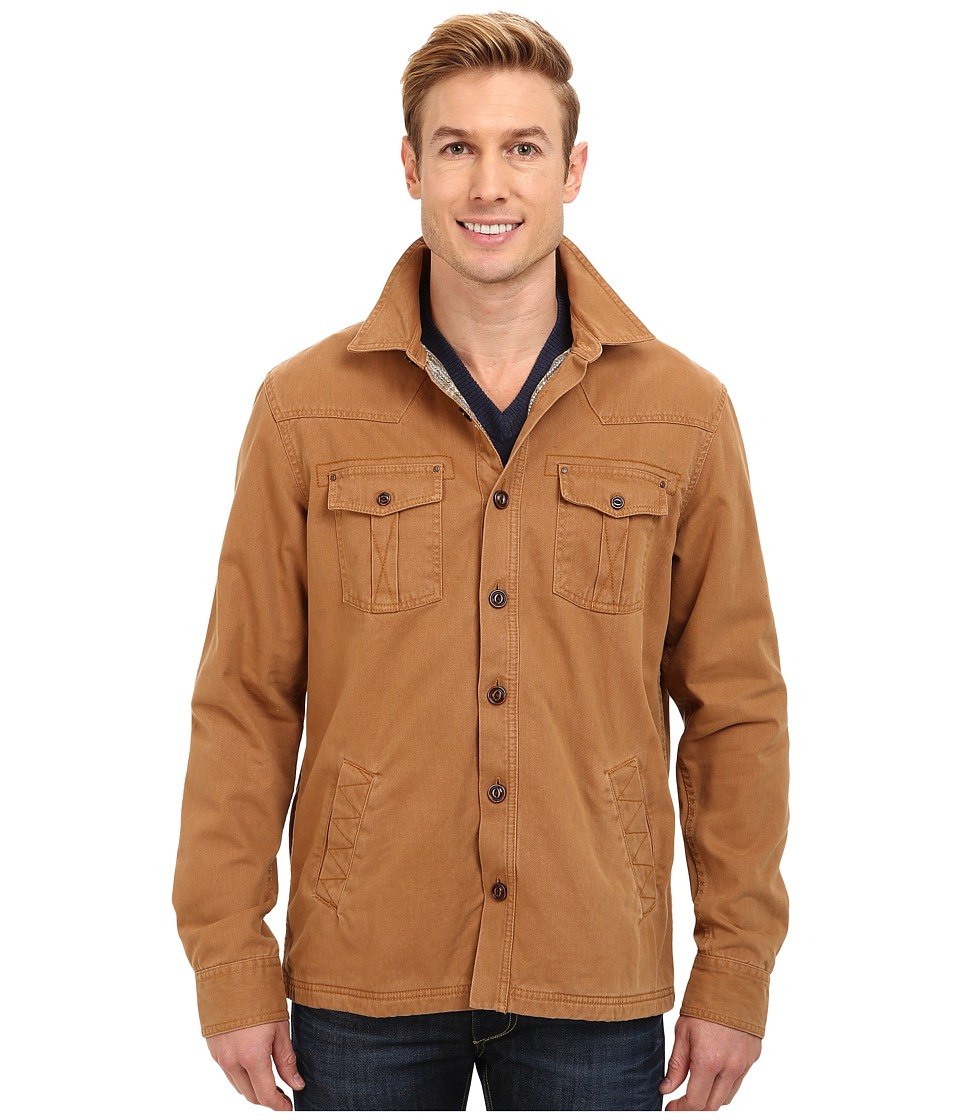 Ecoths - Davidson Jacket (Tobacco Brown) Men