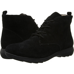 Easy Spirit Wanona (Black Suede) Footwear