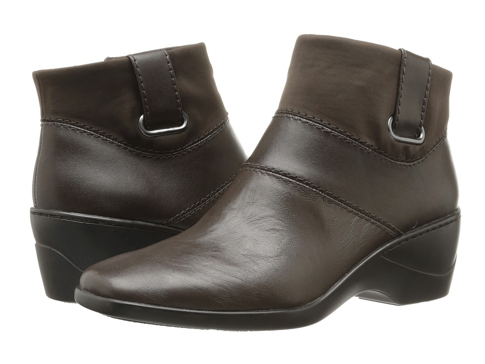 Easy Spirit - Pandita (Dark Brown Multi Leather) Women