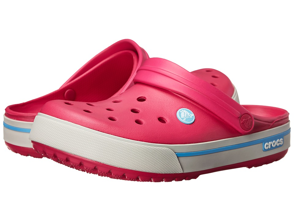 Crocs - Crocband II.5 Clog (Candy Pink/Bluebell) Clog Shoes