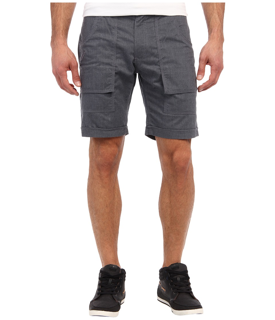 Publish - Banksy Chambray Short (Blue) Men's Shorts