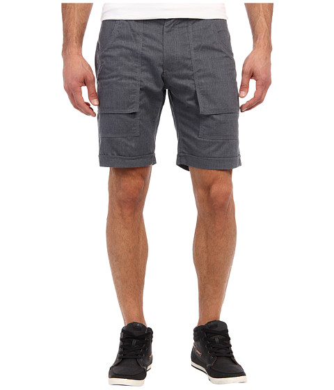 Publish - Banksy Chambray Short (Blue) Men