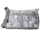LeSportsac Deluxe Shoulder Satchel (All-A-Flutter) Cross Body Handbags