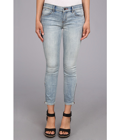 Dittos - Mid Rise Zip Crop in Long Island Sunset (Long Island Sunset) Women's Jeans