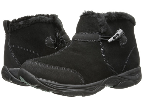 Easy Spirit - Endura (Black Multi Suede) Women's Lace-up Boots