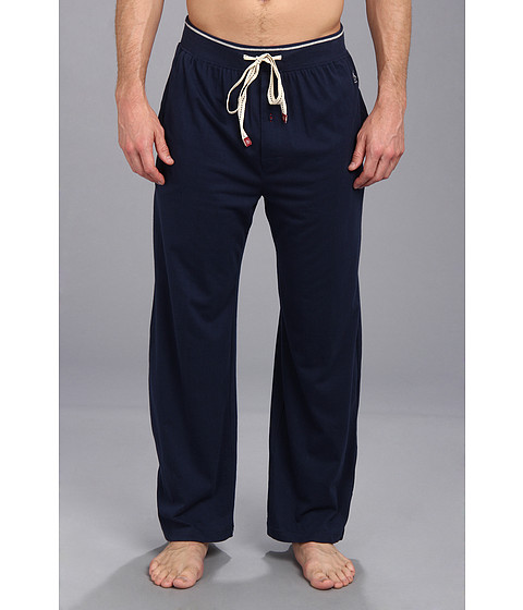 Original Penguin - Comfortable Soft Knit Lounge Pants (Navy) Men's Pajama