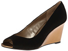 Bandolino Tufflove (Black Suede) Women's Wedge Shoes