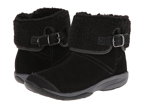 Easy Spirit - Lockdown (Black Multi Suede) Women's Shoes