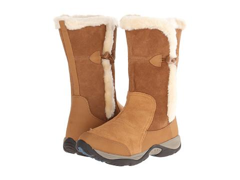 Easy Spirit - Enara (Medium Brown Multi Suede) Women's Shoes