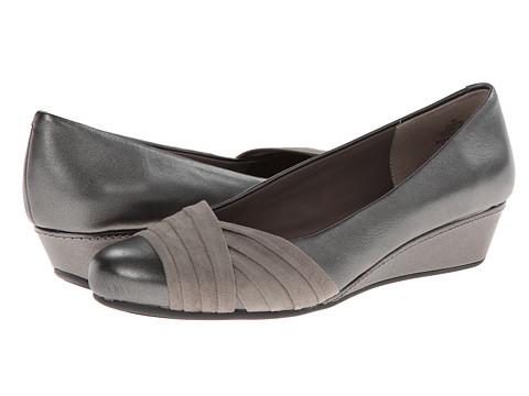 Easy Spirit - Dayna (Pewter/Pewter Leather) Women