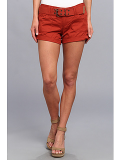 SALE! $14.99 - Save $19 on dollhouse Belted Non Denim Short (Ketchup) Apparel - 55.91% OFF $34.00
