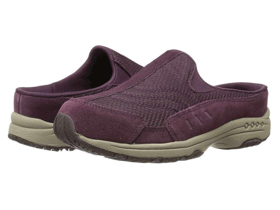 Easy Spirit - Traveltime (Wine/Wine Suede) Women's Shoes