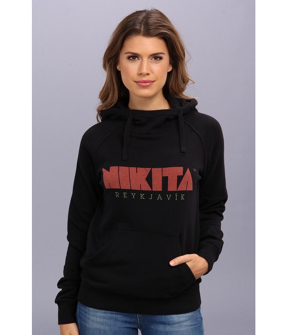 Nikita - Reykjavik Hoodie (Jet Black) Women's Sweatshirt