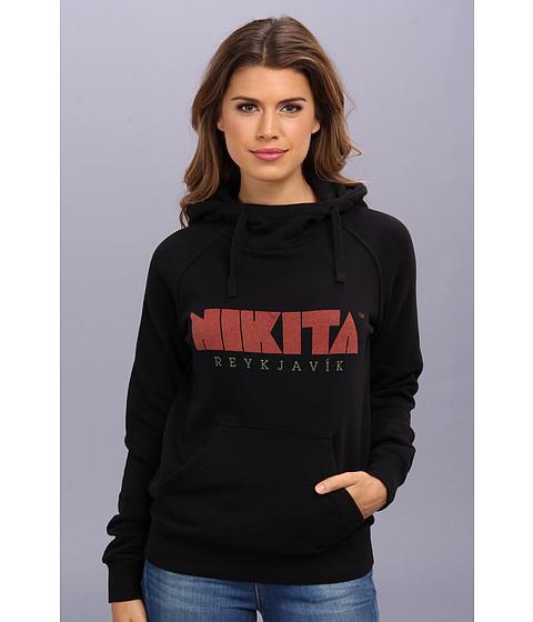 Nikita - Reykjavik Hoodie (Jet Black) Women