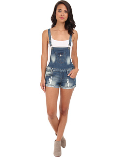SALE! $17.99 - Save $22 on dollhouse Medium Denim Destructed Cuffed Short All (Sydney) Apparel - 55.03% OFF $40.00