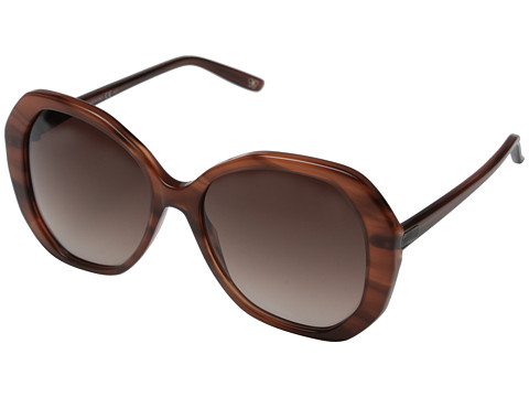 Bottega Veneta - BV 272/S (Striped Light Brown/Brown Gradient) Fashion Sunglasses