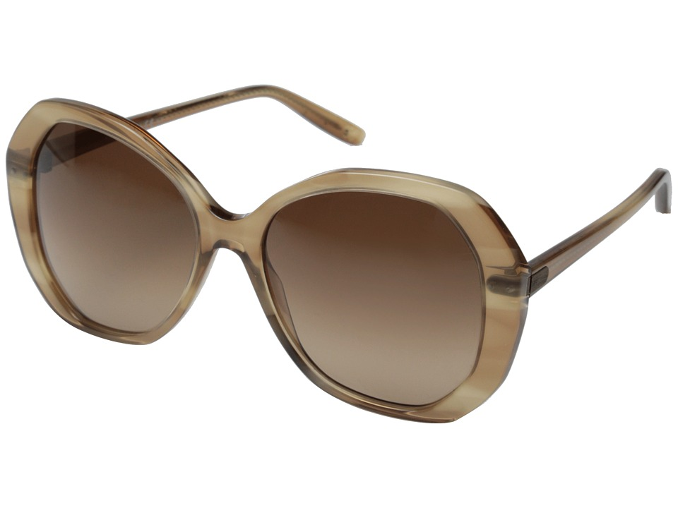 Bottega Veneta - BV 272/S (Shell Beige/Brown Gradient) Fashion Sunglasses