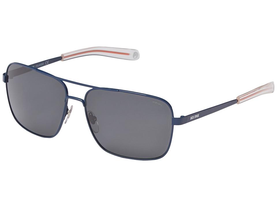Jack Spade - Wright/P/S (Navy/Gray Polarized) Fashion Sunglasses