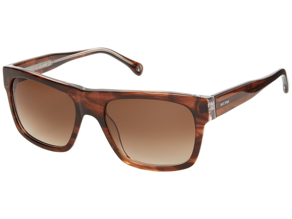Jack Spade - Bennett/S (Brown/Navy Gradient) Fashion Sunglasses