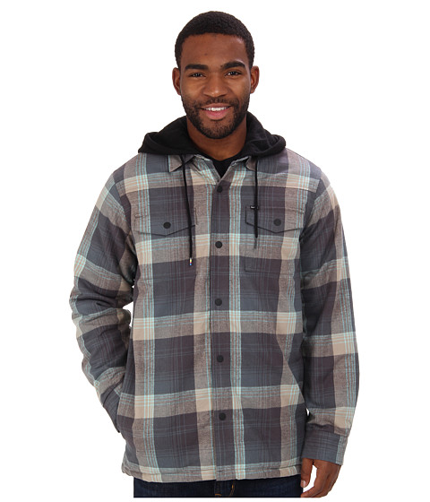 Hurley - Ronin L/S Jacket In (Medium Ash) Men