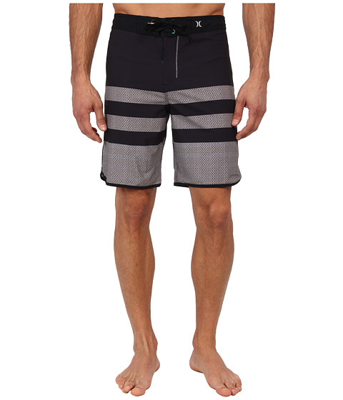 Hurley - Phantom Warp 4 Boardshort (Black) Men's Swimwear