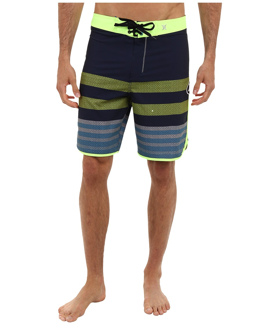 Hurley - Phantom Warp 4 Boardshort (Midnight Navy) Men's Swimwear