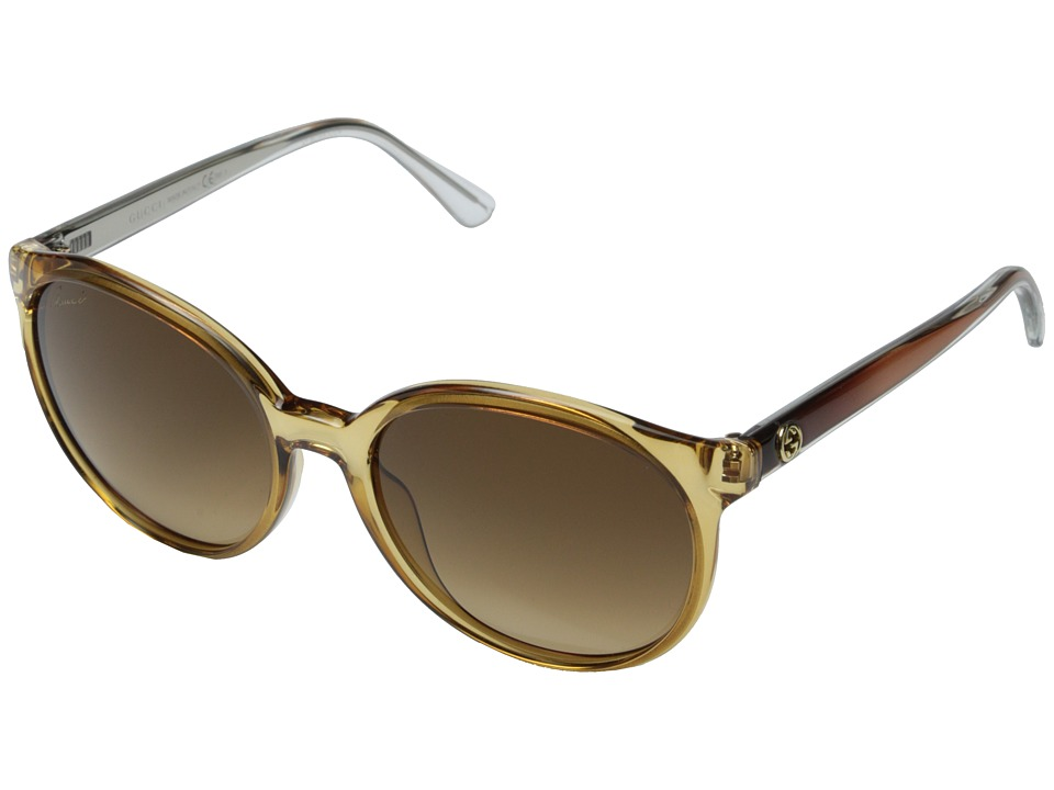 Gucci - GG 3697/S (Caramel/Brown Gradient) Fashion Sunglasses