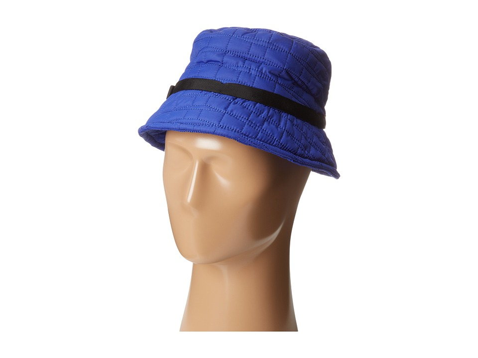 Kate Spade New York - Battery Park Logo Bucket Hat (Emperor Blue) Bucket Caps