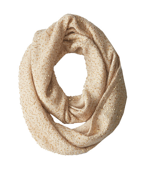 Kate Spade New York - Allover Sequin Infinity Scarf (Pebble) Scarves