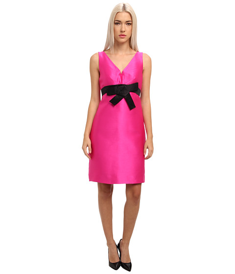 Kate Spade New York - Origami A Line Dress (Vivid Snapdragon) Women's Dress