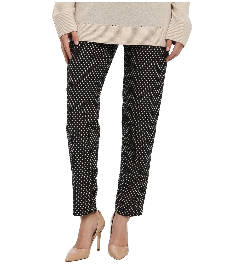 Kate Spade New York - Cafe Dot Margaux Pant (Black) Women's Casual Pants