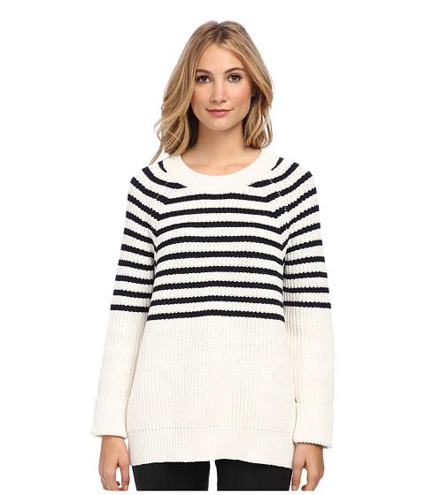 Kate Spade New York - Aura Sweater (Cream/Rich Navy) Women